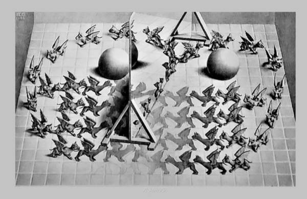 Photograph - Escher 121 by Rob Hans