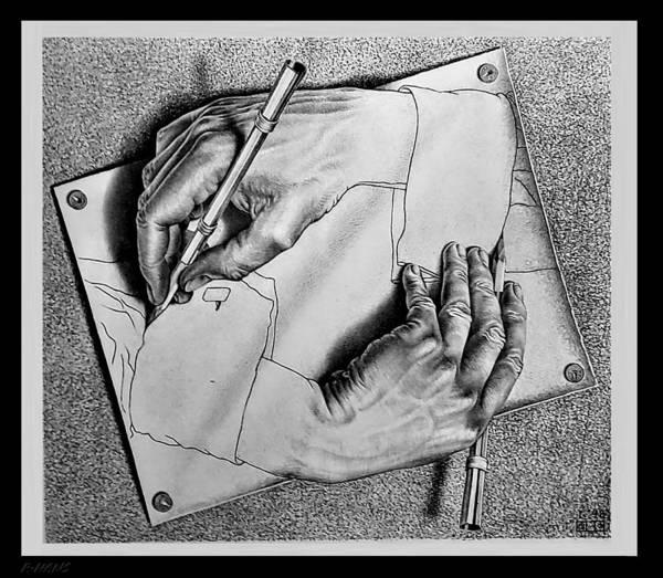 Photograph - Escher 124 by Rob Hans