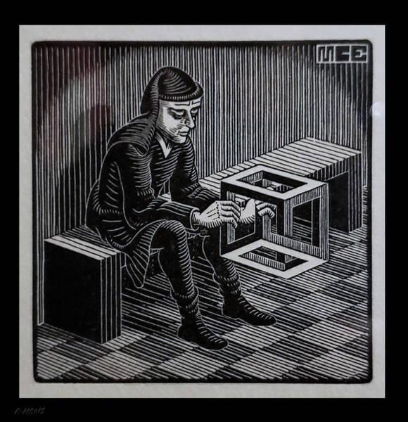 Photograph - Escher 127 by Rob Hans