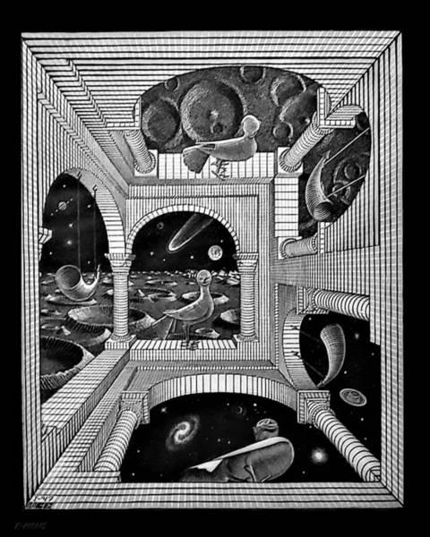 Photograph - Escher 133 by Rob Hans