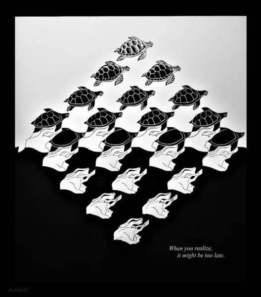 Photograph - Escher 142 by Rob Hans