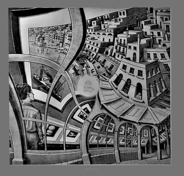 Photograph - Escher 147 by Rob Hans