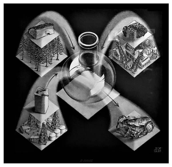 Photograph - Escher 148 by Rob Hans