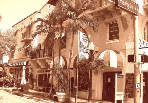 Photograph - Espanola Way In Miami South Beach by Monique Wegmueller