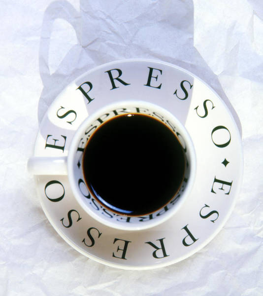 Cut Out Photograph - Espresso Coffee by Graham Day