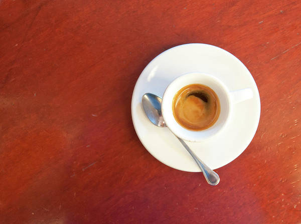 Bar Counter Photograph - Espresso Coffee by Mmac72