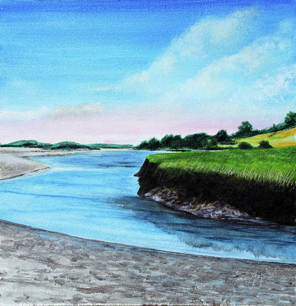 Painting - Essex River South Ipswich by Paul Gaj