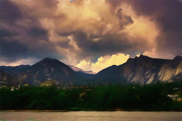Rocky Mountain Digital Art - Estes 1 by Ernie Echols