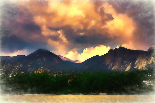 Rocky Mountain Digital Art - Estes 2 by Ernie Echols