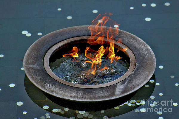 Photograph - Eternal Flame by Stephen Mitchell