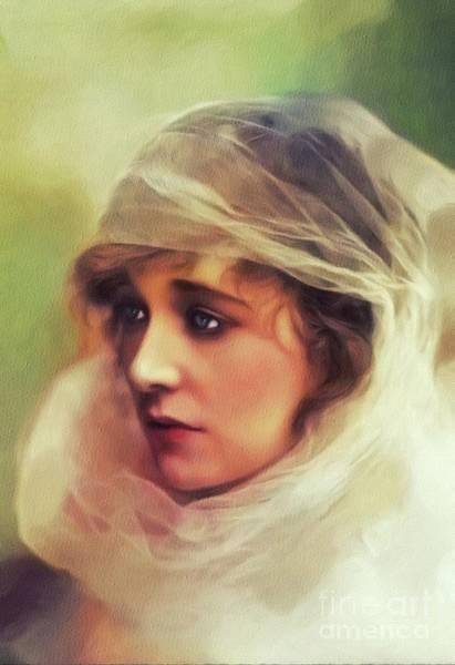 Ethel Clayton, Vintage Actress Art Print
