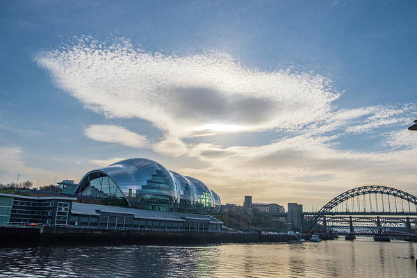 Photograph - Etheral Cloud Over Sage Gateshead by Iordanis Pallikaras
