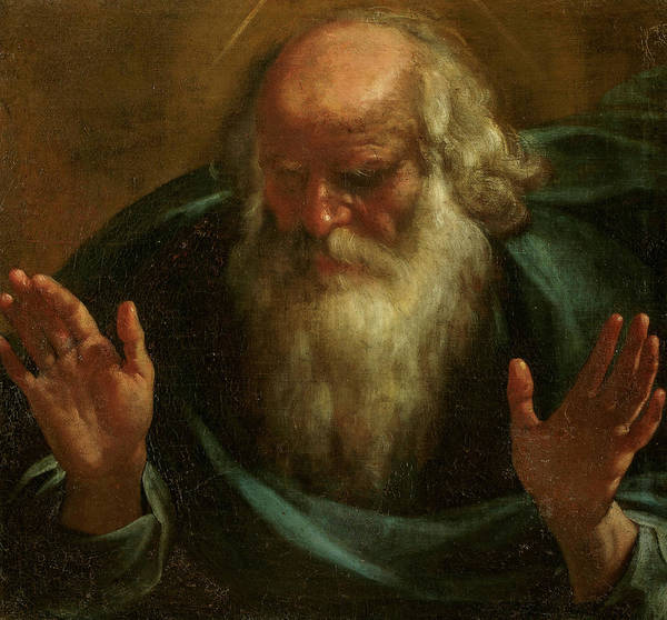 Wall Art - Painting - Ethernal Father, 17th Century by Rutilio Manetti