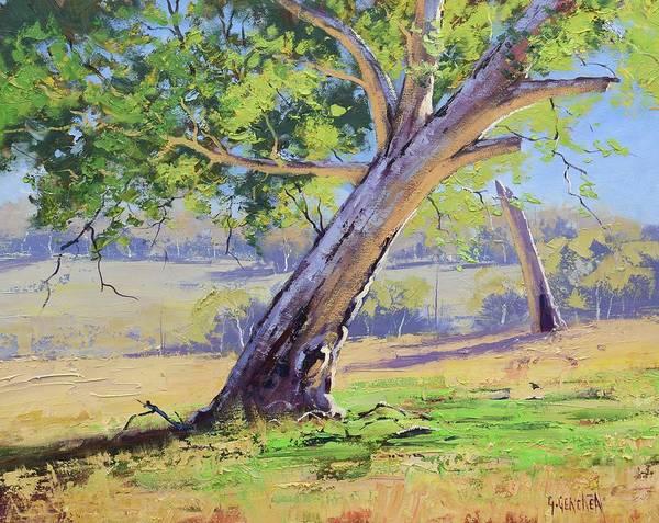Wall Art - Painting - Eucalyptus Tree Australia by Graham Gercken