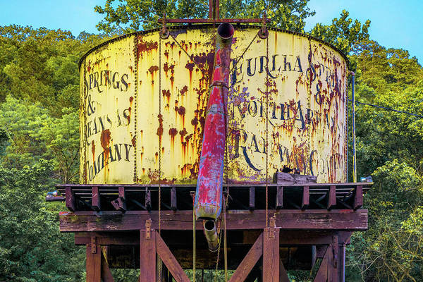 Wall Art - Photograph - Eureka Springs Water Tower - Northwest Arkansas by Gregory Ballos