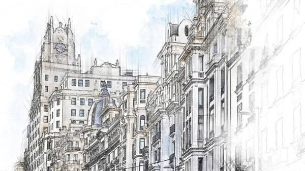 Construction Painting - European Architecture by ArtMarketJapan