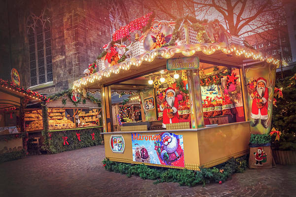 Deutschland Photograph - European Christmas Markets Bremen Germany  by Carol Japp