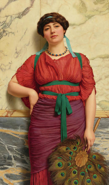 Wall Art - Painting - Eurypyle, 1920 by John William Godward