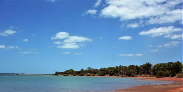 Photograph - Evans Landing Bauxite Beach by Joan Stratton