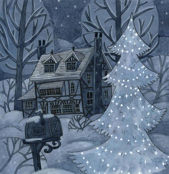 Yule Painting - Eve by Ema Malyauka