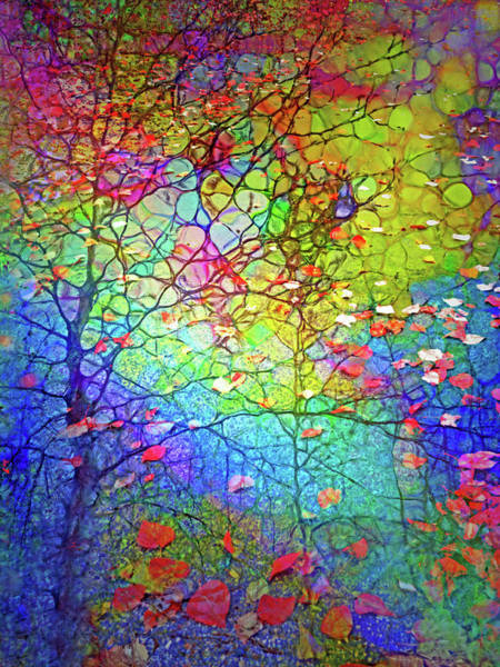Wall Art - Digital Art - Even As We Fall We Are Changing by Tara Turner