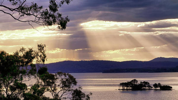 Photograph - Evening At Green Point by Nicholas Blackwell