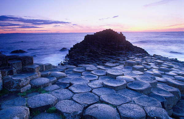 Irish Landscape Photograph - Evening At The Giants Causeway by Gareth Mccormack