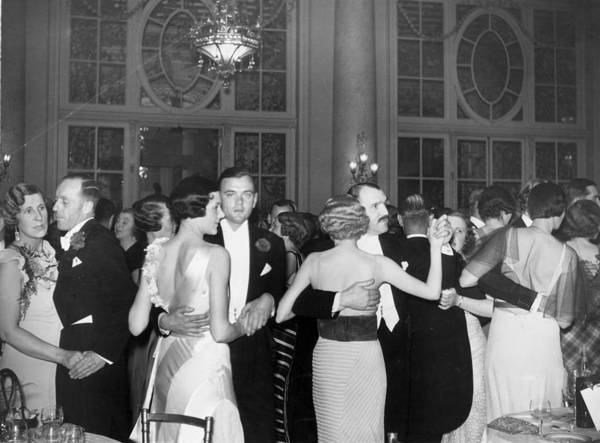 Carlton Hotel Photograph - Evening Dance by Sasha