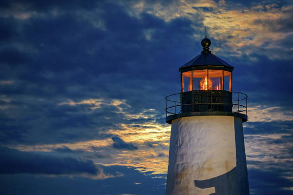 Wall Art - Photograph - Evening Glow At Pemaquid Point by Rick Berk