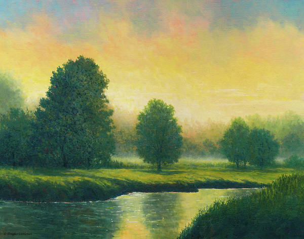 Painting - Evening Glow by Douglas Castleman