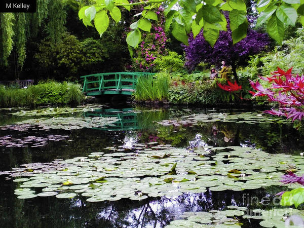 Claude Monet Photograph - Evening In Giverny by Marsha McAlexander