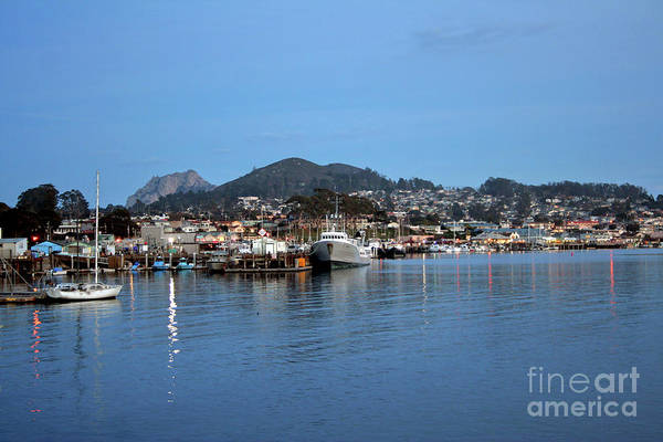 Photograph - Evening In Morro Bay by Michael Rock