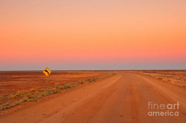 Wall Art - Photograph - Evening In The Australian Outback, Dirt by Australiancamera