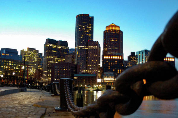 Photograph - Evening In The Seaport by Christina Maiorano