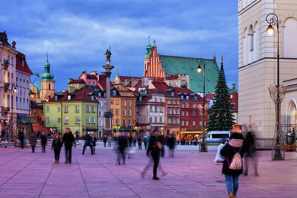 Wall Art - Photograph - Evening In Warsaw by Artur Bogacki