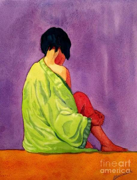 Painting - Evening Iris by Lorraine Germaine