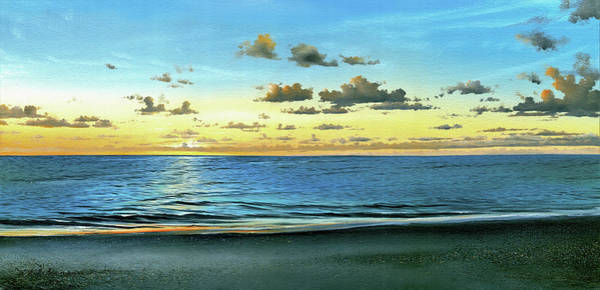 Painting - Evening Light  by Mike Brown
