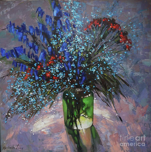 Magic Realism Painting - Evening Magic by Anastasija Kraineva