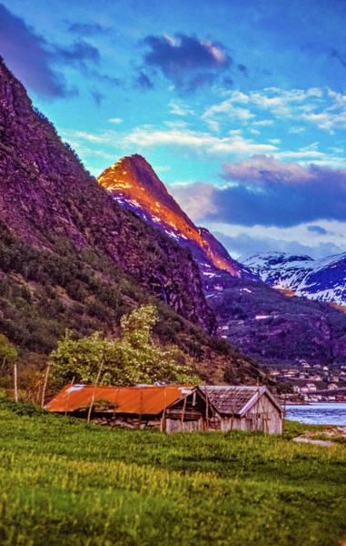 Wall Art - Photograph - Evening On The Fjord  by Steve Harrington