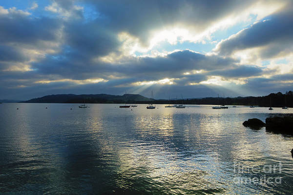 Wall Art - Photograph - Evening On Windermere In Lake District National Park by Louise Heusinkveld