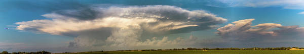 Photograph - Evening Supercell And Lightning 011 by Dale Kaminski
