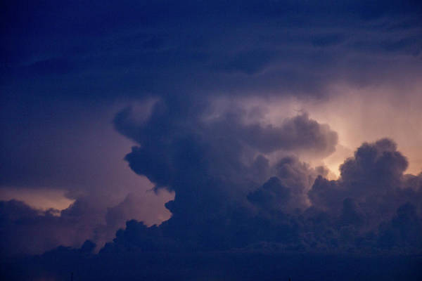 Photograph - Evening Supercell And Lightning 057 by Dale Kaminski