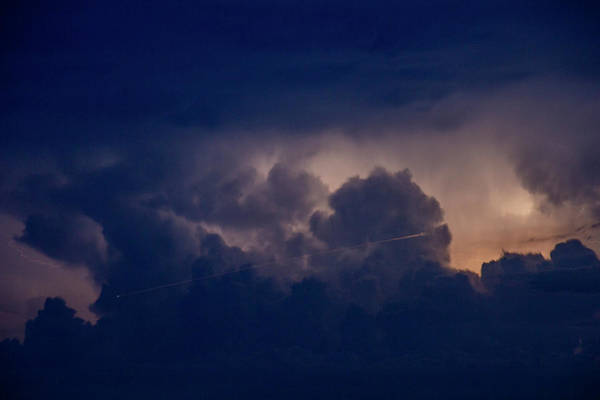 Photograph - Evening Supercell And Lightning 059 by Dale Kaminski