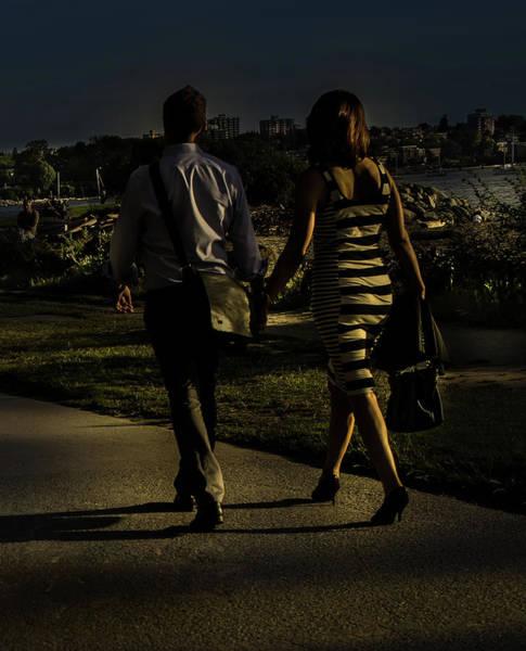 Photograph - Evening Walk by Juan Contreras