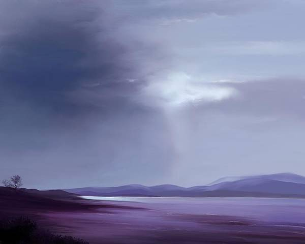Painting - Evenings Low Tide by Mark Taylor