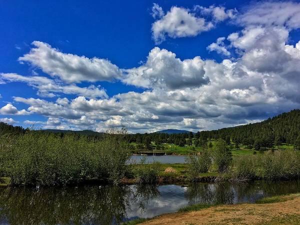 Photograph - Evergreen Lake Island by Dan Miller