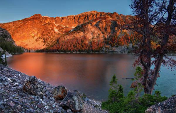 Photograph - Everson Lake by Leland D Howard