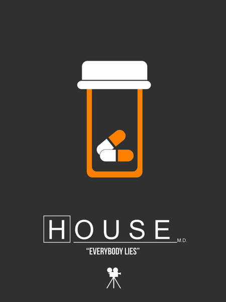 House Digital Art - Everybody Lies by Naxart Studio