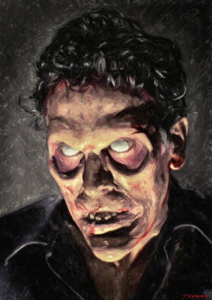 Painting - Evil Ash by Zapista Zapista