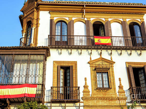 Photograph - Seville Colors by John Rizzuto